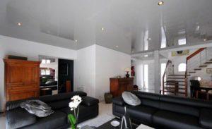 Spanndecken Wohnzimmer